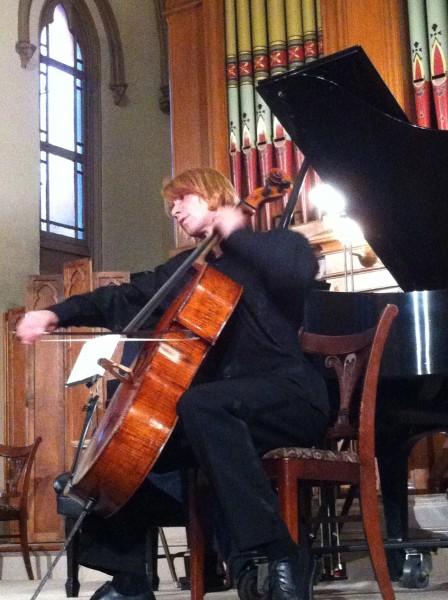 Sergey Antonov stars at the Astoria Music Festival.