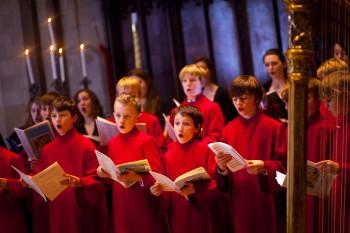 Choir of Jesus College, Cambridge, sings Friday.