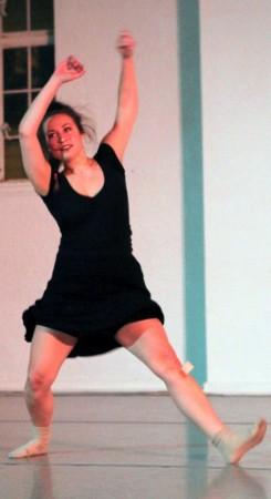 "Katie Myers in ""Breadcrumbs."" Photo: Jim Lykins"