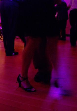 Paired up and ready to tango at Tango Berretin on milonga night.