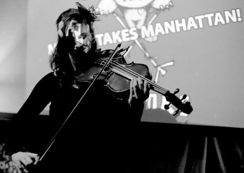 "The ""Mattie Takes Manhattan"" party at The Waypost gave Kaiser a chance to bid Classical Revolution a fond farewell."