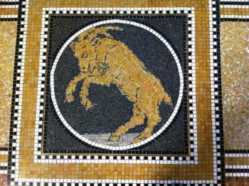 Floor mosaics, reinvigorated. Photo: Henk Pander
