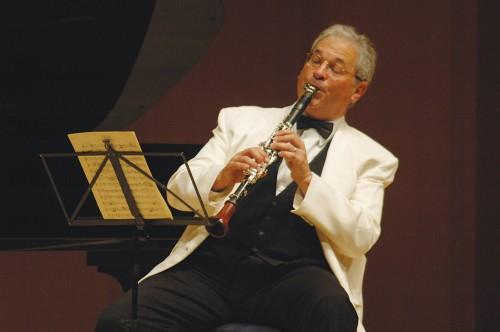 Chamber Music Northwest artistic director David Shifrin.