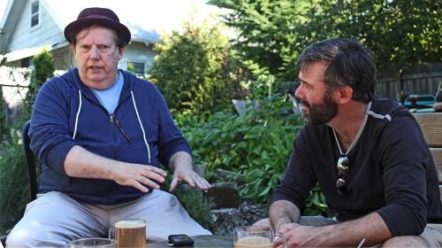 Director and star: Kyle and Turner talk about Richard. Photo: Jason Maniccia