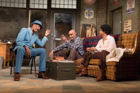 Roy B. Ayers, Mujahid Abdul-Rashid, and Rodney Hicks. Photo: Brud Giles
