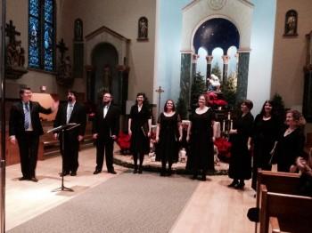 The Ensemble performed December 29.