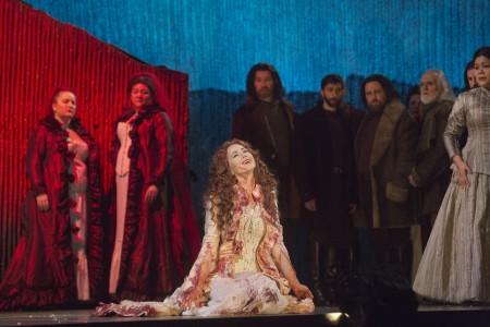Elizabeth Futral in Portland Opera's Lucia di Lammermoor. Photo: Ken Howard