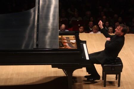 Stephen Hough performing at Carnegie Hall in 2010. Photo: Hiroyuki Ito Credit: Hiroyuki Ito