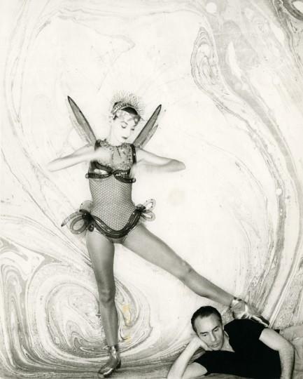 "LeClercq and Balanchine, ""Metamorphoses."""
