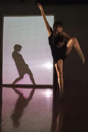 "Zahra Banzi performs ""Veil"" at Conduit's Dance+ Festival/Photo by Jim Lykins"