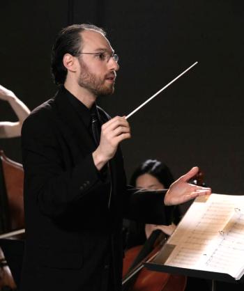Composer Ethan Gans-Morse. Photo: Anima Mundi Productions.