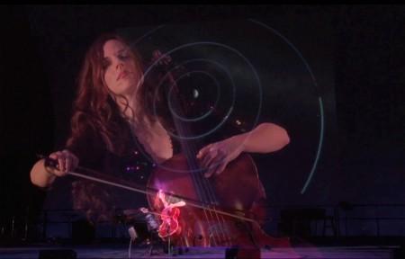 Maya Beiser performs at Portland's TBA Festival Monday.