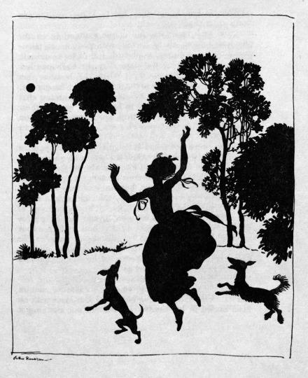 "Arthur Rackham, illustration from ""Cinderella,"" by C.S. Evans; London, W. Heinemann / Philadelphia, J.P. Lippincott, 1919."