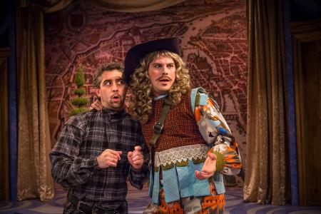 San Nicolas (left) and Murray: comedy in true and false. Photo: Owen Carey