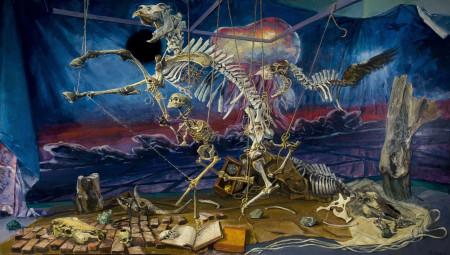 "Henk Pander, ""Flight"", oil on canvas/Courtesy of Henk Pander"