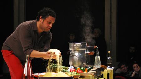 Radhouane El Meddeb: the art of cooking. Photo: Carollina Lucchesini