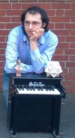 Portland composer Thomas DeNicola.