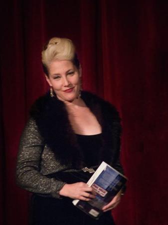 Viva Las Vegas read from her memoir, 'Magic Gardens,' before the opera began. Photo: Gene Newell.