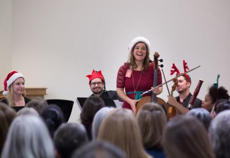 Happy musicians, happy audience: the Oregon Symphony at Coffee Creek. Photo: Benji Vuong