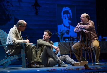 The boys in the Stupid Bird band: Charles Leggett, Ian Holcomb, Darius Pierce. Photo: Patrick Weishampel/blankeye.tv