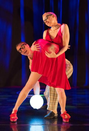"Alicia Cutaia and Daniel Kirk in Daniel Schlosberg's ""So Dreamy."" Photo: Blaine Truitt Covert"