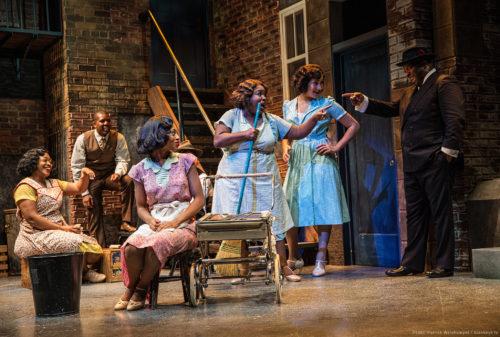 "Best production nominee ""Ain't Misbehavin'"" at Portland Center Stage. Patrick Weishampel/blankeye.tv."