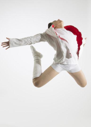 "Ethan Myers in Trey McIntyre's ""Mercury Half-Life"" for The Portland Ballet. Photo: Blaine Truitt Covert"