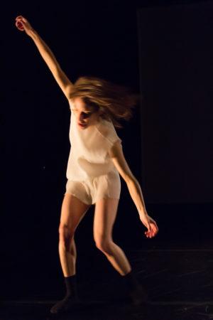 Vanessa Goodman starred in 'Container' at Portland's 2016 Risk/Reward Festival. Photo: Chelsea Petrakis.