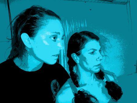 003 TSD Kelly Koltiska left Celeste Olivares right
