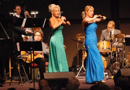 Siri Vik and Shirley Andress sing at Oregon Festival of American Music.