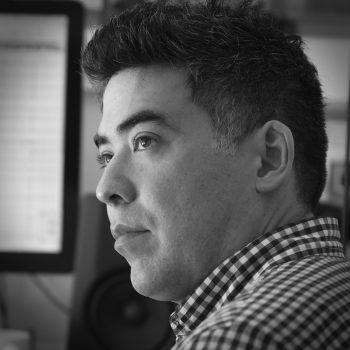 Composer Kenji Bunch.
