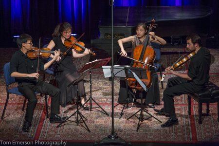 Zora Quartet performed at Alberta Rose Theater. Photo: Tom Emerson.