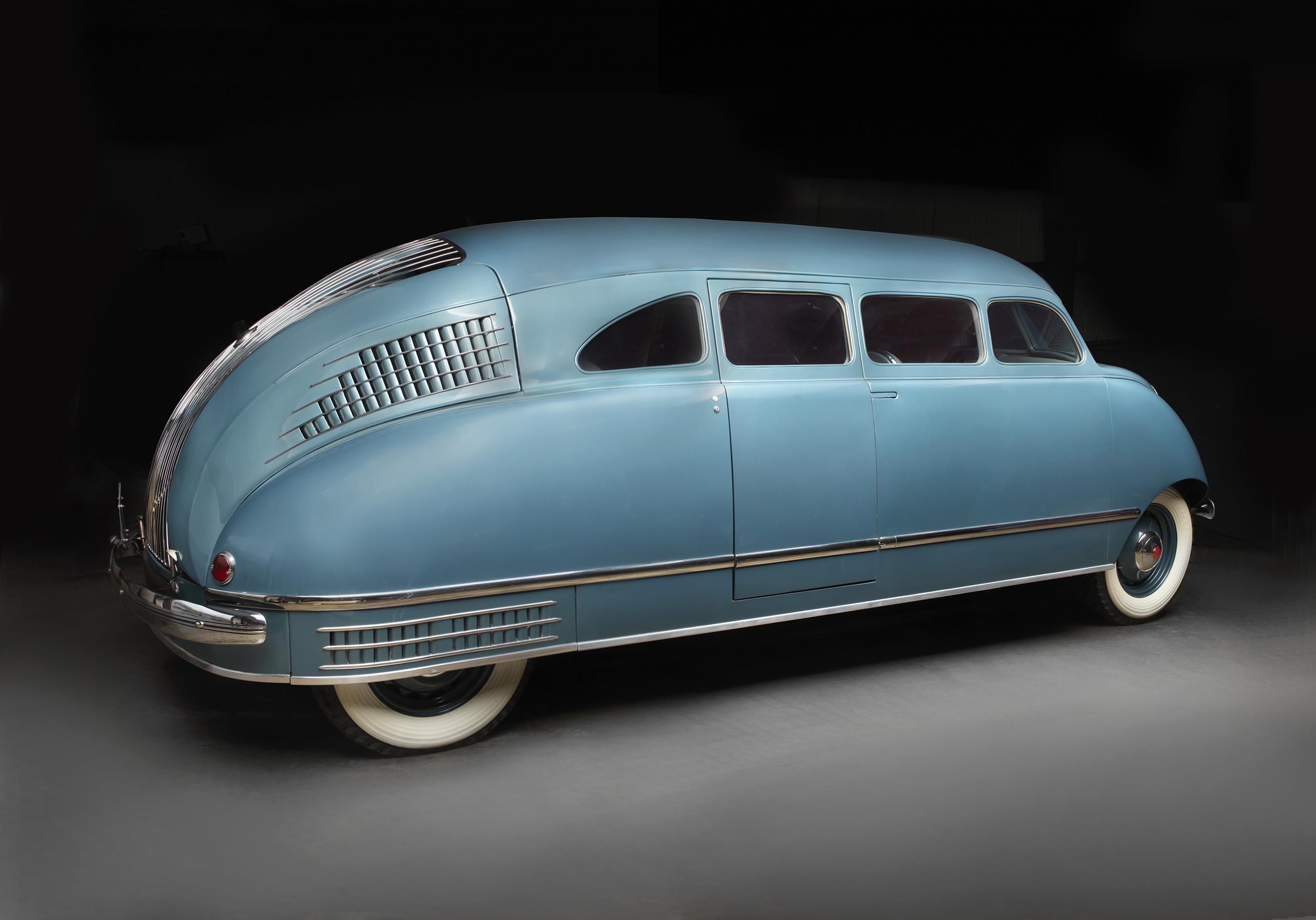 Stout Scarab Sedan, 1936. Photo: Peter Harholdt. Courtesy of Ron Schneider.