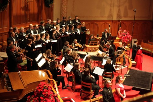 Cappella Romana and Portland Baroque Orchestra made beautiful music together in 2012.