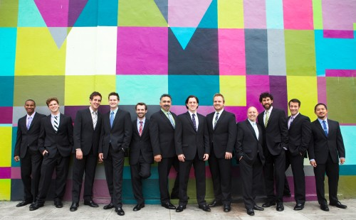 Chanticleer performs at Portland's St. Mary's Cathedral