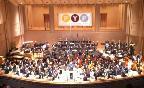 Portland Youth Philharmonic performs at Arlene Schnitzer Concert Hall Thursday.