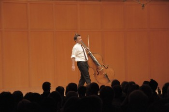 Edgar Meyer/ Photo by Jim Leisy, Chamber Music Northwest