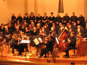 Bach Cantata Choir performs  Sunday.