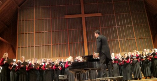 Ethan Sperry conducted Oregon Repertory Singers in December concerts.