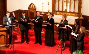 The Ensemble sang Victoria's Requiem in Portland.