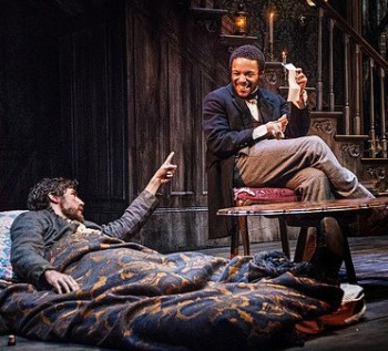 "Carter Hudson, Christopher Livingston, ""Whipping Man."" Photo: Patrick Weishampel"