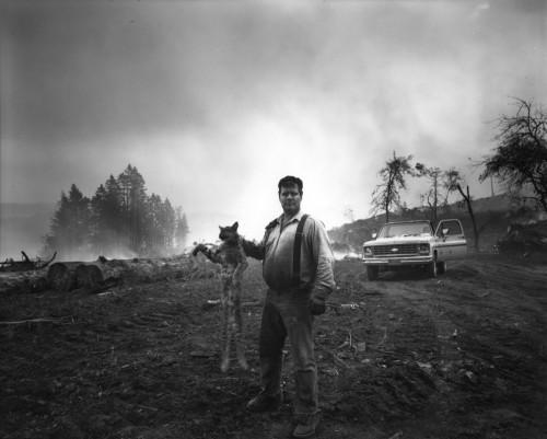 "Mark Barnes, ""Devery Freeman, Rogue River, Oregon""/Portland Art Museum"