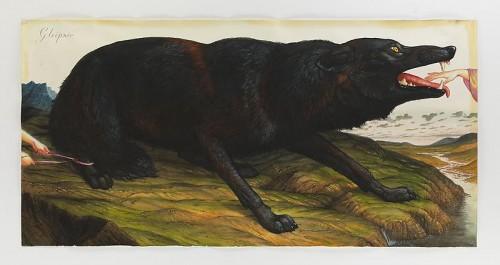 "Walton Ford, ""Geipner""/Portland Art Museum"