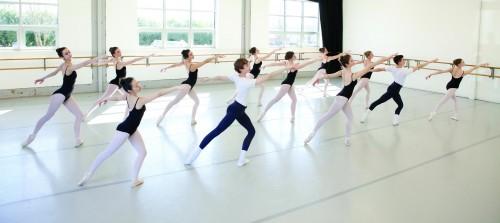 The Portland Ballet studio in action. Photo: Blaine Truitt Covert