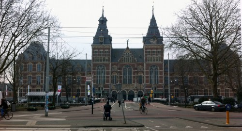 Facade of the newly renovated Rijksmuseum in Amsterdam. Photo: Henk Pander