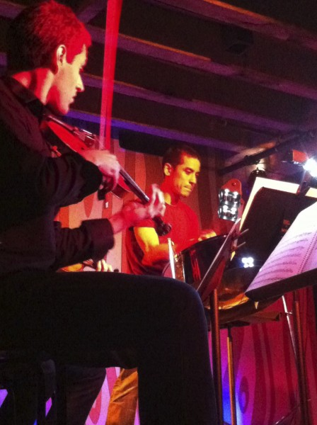 Violinist Joel Link and the Dover Quartet joined steel pan virtuoso Andy Akiho at Chamber Music Northwest.