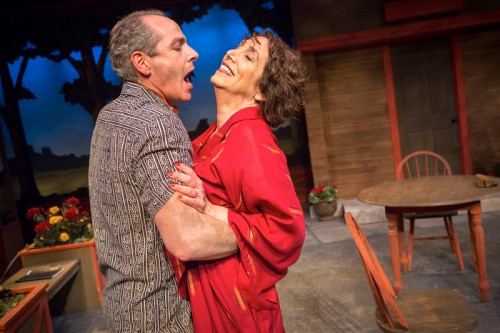 "Michael Mendelson and Linda Alper in ""Ten Chimneys""/Owen Carey"