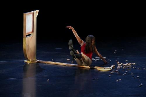 "Linda Austen in ""Three Trick Pony""//Photo by Chelsea Petrakis courtesy PICA"