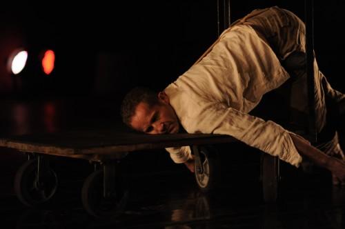 """Eric Skinner in """"Baby Plays Around""""/Photo David Krebs"""