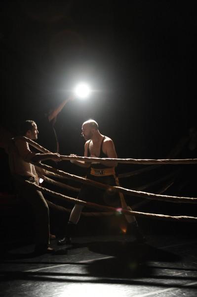 """Eric Skinner and Jonathan Krebs in """"Let Him Dangle""""/David Krebs"""